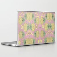pineapples Laptop & iPad Skins featuring Pineapples by homotrippin