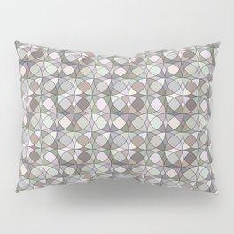 Nearly Neutral Circles Pillow Sham