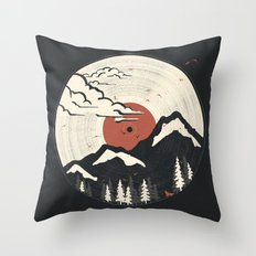 MTN LP... Throw Pillow