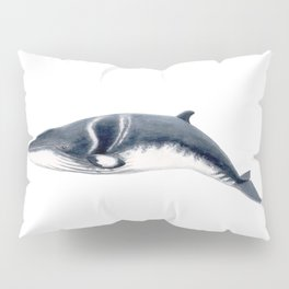 Baby Minke whale Pillow Sham