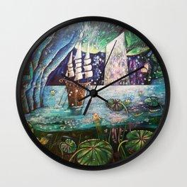 Lake Languish Wall Clock