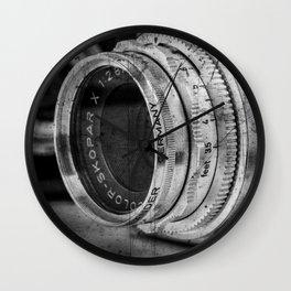 Classic Lenses Wall Clock