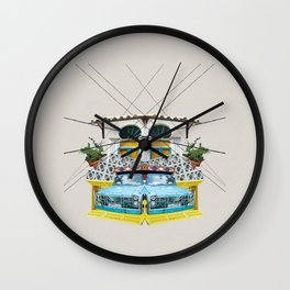 Fruit Car - Beirut Wall Clock