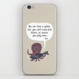 You can tune a guitar... iPhone Skin