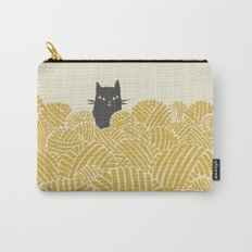 Cat and Yarn Carry-All Pouch