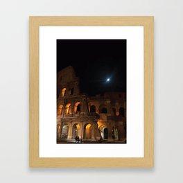 Rome Colosseum Framed Art Print