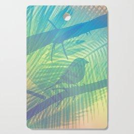 Palm bird Cutting Board