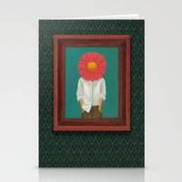 the perks of being a wallflower Stationery Cards featuring Wallflower by Lindsay Beach