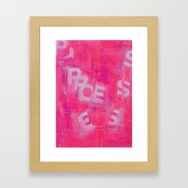 PpOEeSs Framed Art Print