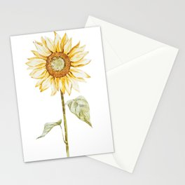 Sunflower 01 Stationery Cards