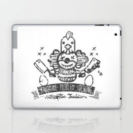 Crazy Clown Laptop & iPad Skin