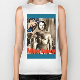 """PLEASE TOUCH THE """"MEXICAN"""" {RICARDO MONTALBAN, EDITION} Biker Tank"""