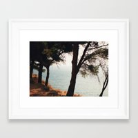 greece Framed Art Prints featuring Greece by Nicky Severein