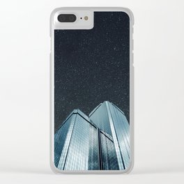 City of glass (1983) Clear iPhone Case