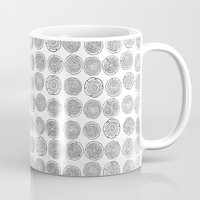 tree rings Mugs featuring Tree Rings by Andrew Stephens