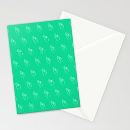 F ((emerald)) Stationery Cards
