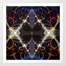 Diamond Broadcast Art Print