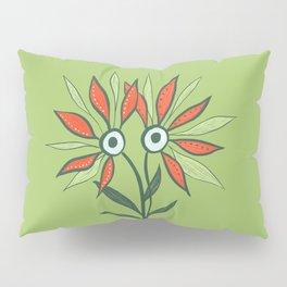 Cute Eyes Flower Monster Pillow Sham
