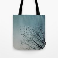 let it go Tote Bags featuring Let Go by Brandy Coleman Ford