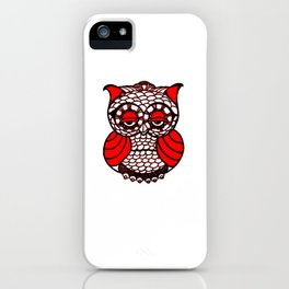 Sad Owl iPhone Case
