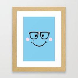 Mr NERD Framed Art Print