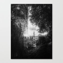 | journey in space-time - a sanctuary for the spirit, chapter I | Canvas Print