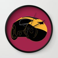 tron Wall Clocks featuring Tron by FilmsQuiz