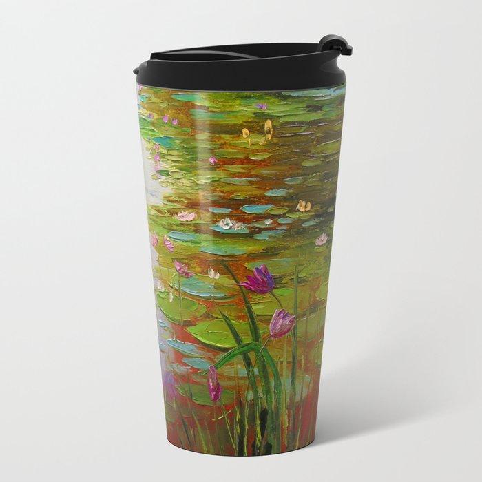 Pond Metal Travel Mug
