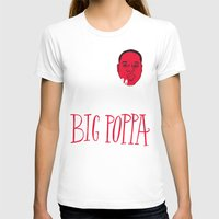 typo T-shirts featuring French Poppa by Chris Piascik