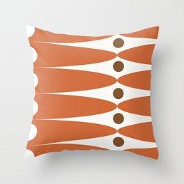 Retro geometric: Documentar el infinito Throw Pillow