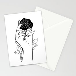 Hurt inside Stationery Cards