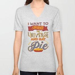 Pie Eating Unisex V-Neck