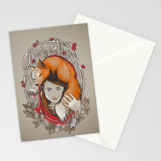 Safe in My Red Riding Hood Stationery Cards