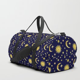 Sun, Moon & Stars Duffle Bag