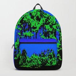 Mod Trees Blue & Green Backpack