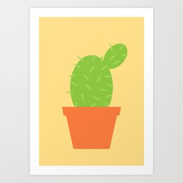 #7 Cactus Art Print