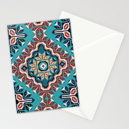 Native American Navajo pattern II Stationery Cards
