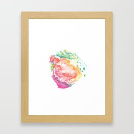 abstract watercolor 13 Framed Art Print