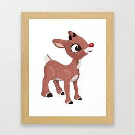 Classic Rudolph Framed Art Print