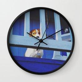 Blue Tom Wall Clock