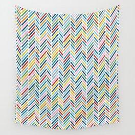 Herringbone Colour Wall Tapestry