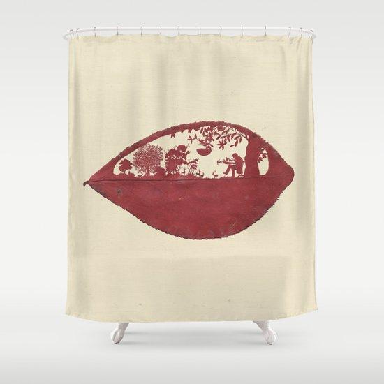 The Deer Maker Shower Curtain
