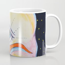 Third Eye Alien Geometric Painting Ascension Clairvoyant Channeled ARtwork Coffee Mug