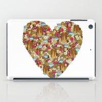 breakfast iPad Cases featuring Breakfast by Julia Emiliani