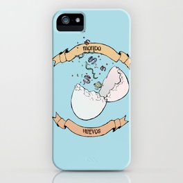 Manda Huevos iPhone Case