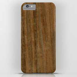 Etomie (Flat Cut) Wood iPhone Case