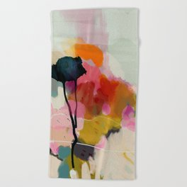 paysage abstract Beach Towel