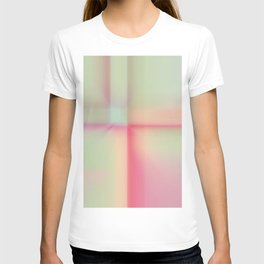 """Sherbert"" pastel Colored Abstract Design T-shirt"