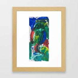 its the paint Framed Art Print