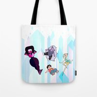 steven universe Tote Bags featuring Steven Universe by EclecticMayhem